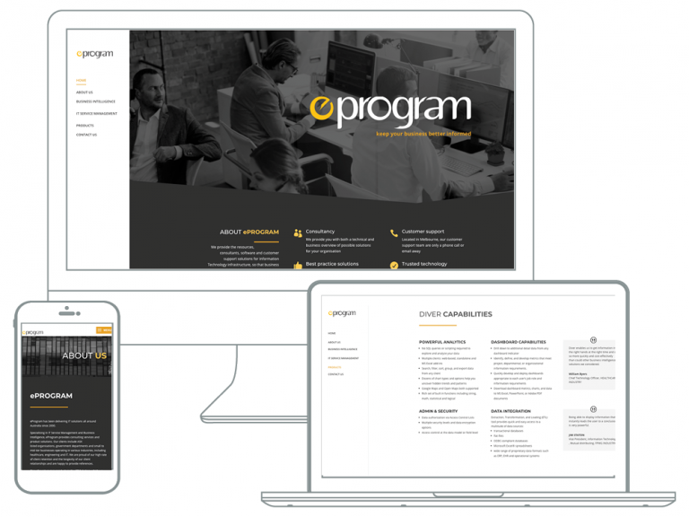eProgram website